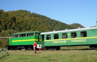 Програма туру трамвайчика в Карпатах